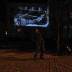Chen Chieh-Jan projectie op het Bisschopelijk paleis