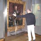 Toverscherm voor schilderij Michiel de Ruijter